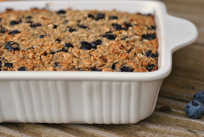 Blueberry-Lemon Baked Oatmeal 2