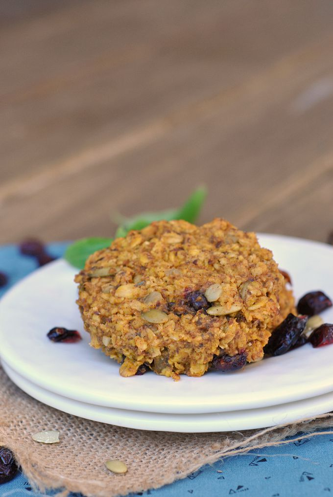 Pumpkin-Oat Breakfast Cookies 1