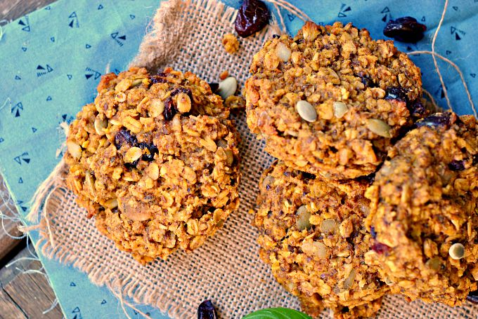 Pumpkin-Oat Breakfast Cookies 2