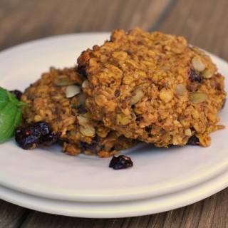 Pumpkin-Oat Breakfast Cookies