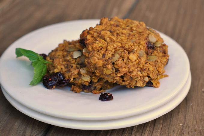 Pumpkin-Oat Breakfast Cookies 3