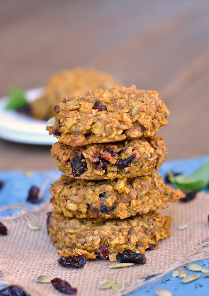 Pumpkin-Oat Breakfast Cookies 4