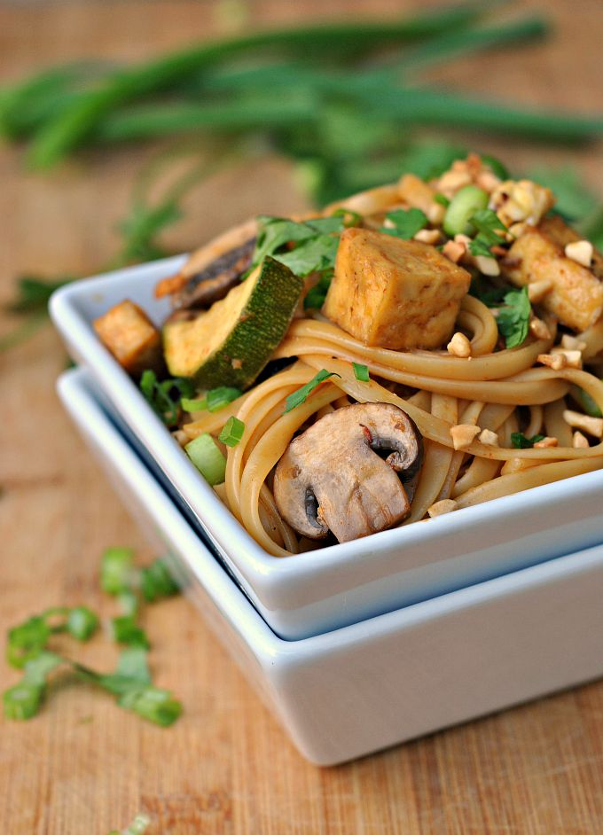 Spicy Thai Noodles with Tofu 1