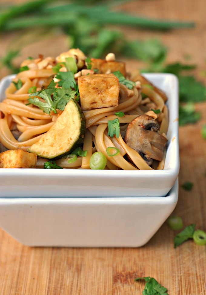 Spicy Thai Noodles with Tofu 4