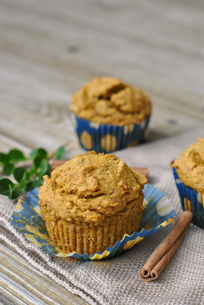 Best Ever Healthy Pumpkin Muffins 1