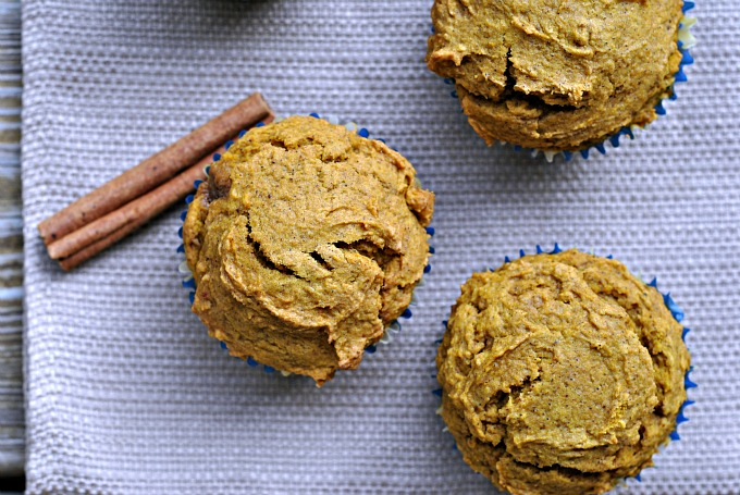 Best Ever Healthy Pumpkin Muffins 2
