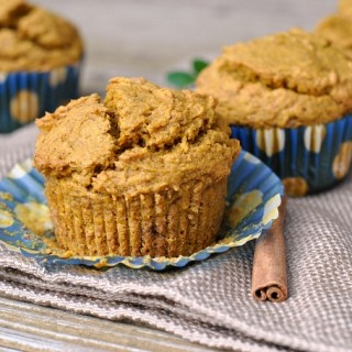 Best Ever Healthy Pumpkin Muffins