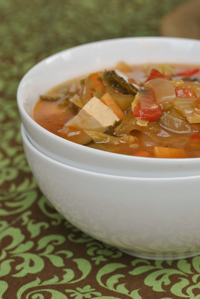 Nine Vegetable Hot and Sour Soup 1