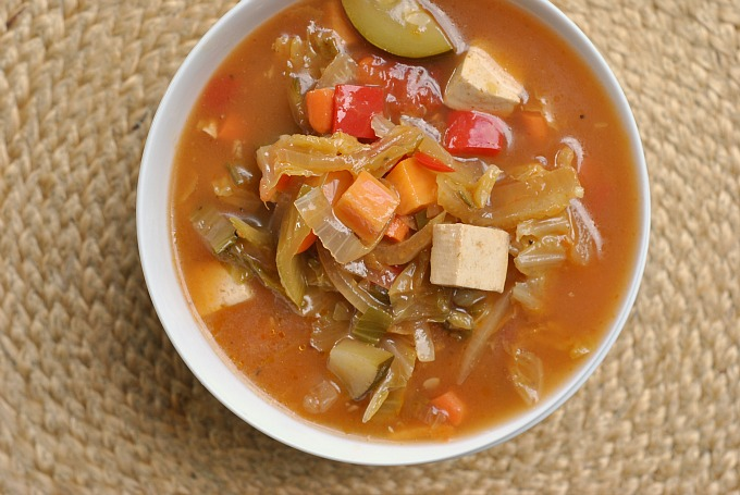 Nine Vegetable Hot and Sour Soup 2