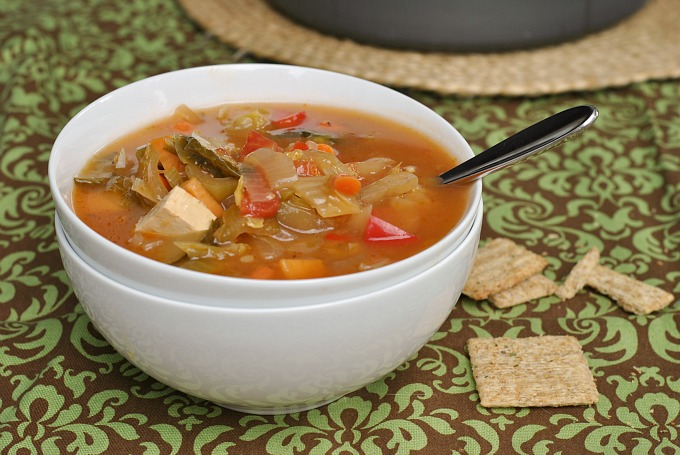 Nine Vegetable Hot and Sour Soup 3