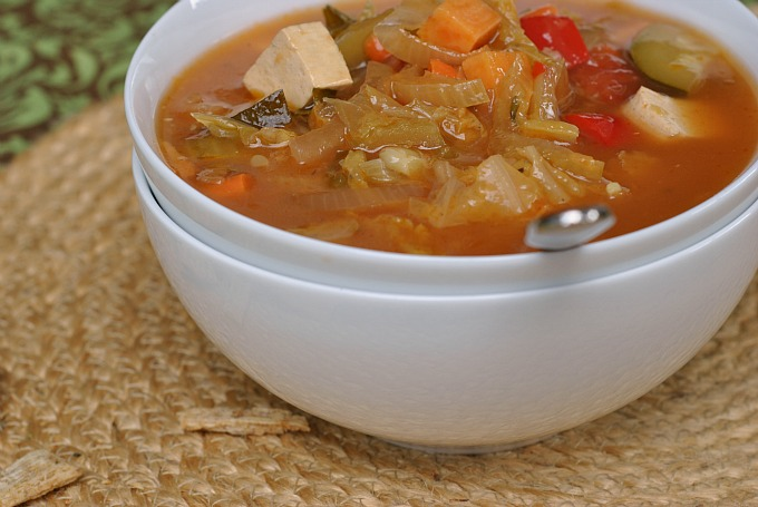 Nine Vegetable Hot and Sour Soup 4