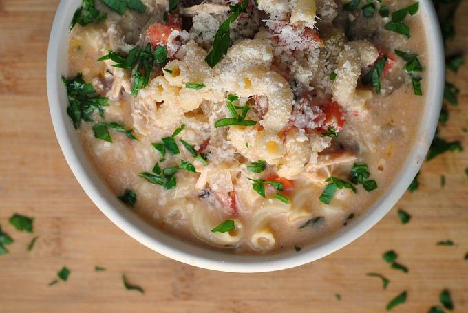 Creamy Basil Parmesan Italian Soup 2