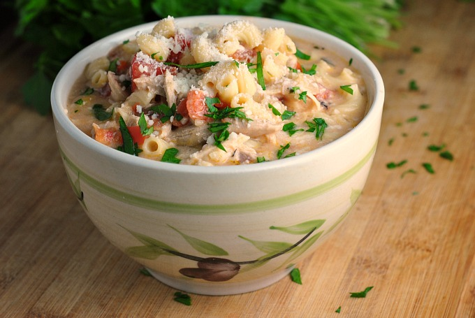 Creamy Basil Parmesan Italian Soup 3