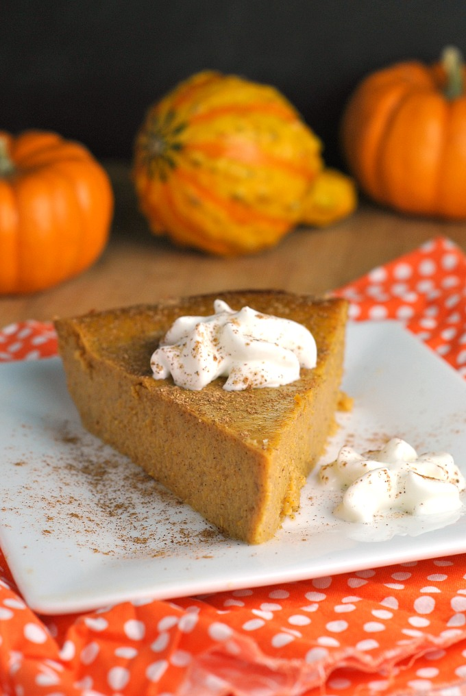 Crustless Pumpkin Pie 1