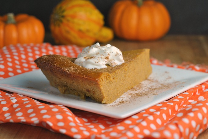 Crustless Pumpkin Pie 2