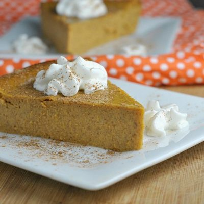 Recipe Repeat: Crustless Pumpkin Pie