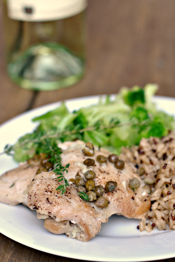 Easy Chicken Piccata 1