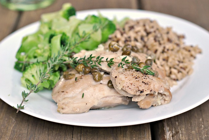 Easy Chicken Piccata 2