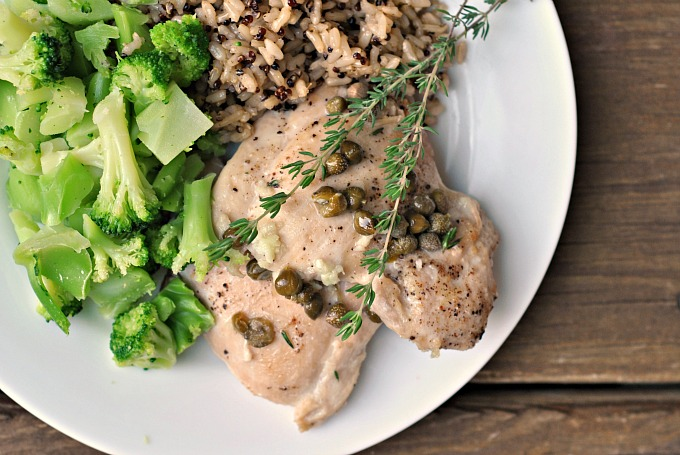 Easy Chicken Piccata 3