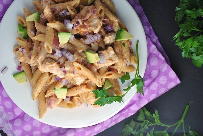 Skillet BBQ Chicken Pasta 2
