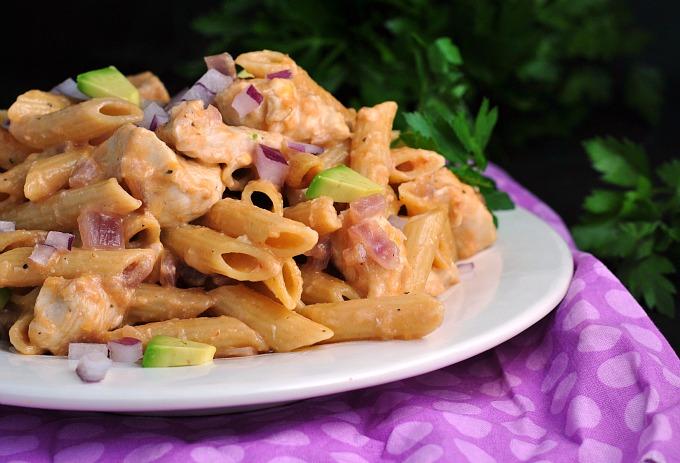 Skillet BBQ Chicken Pasta 3