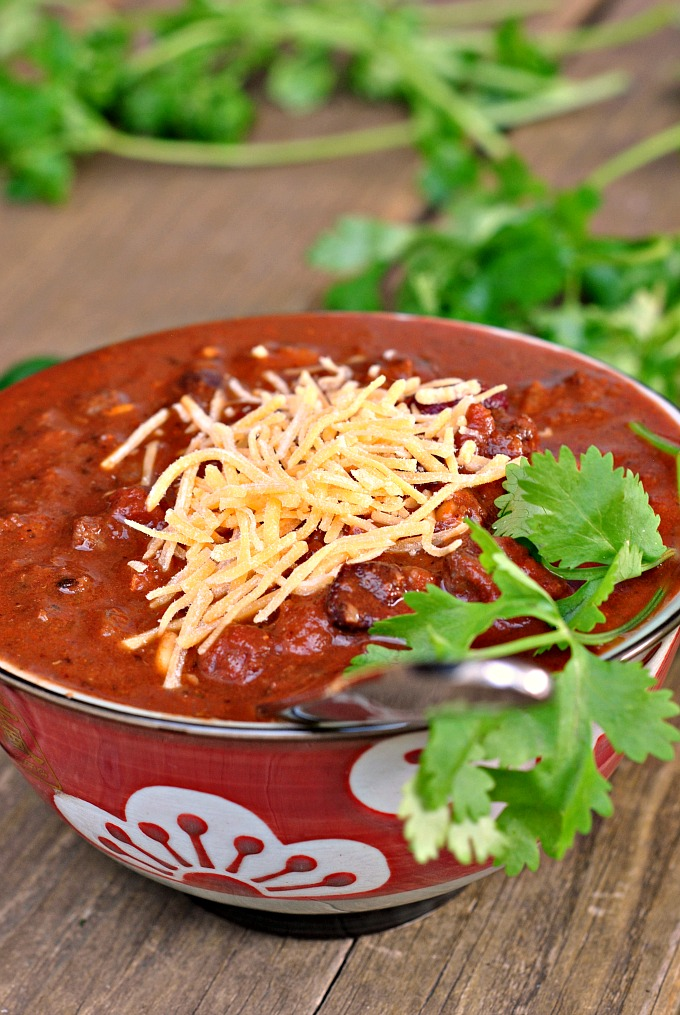 Manly Meaty Chili 1