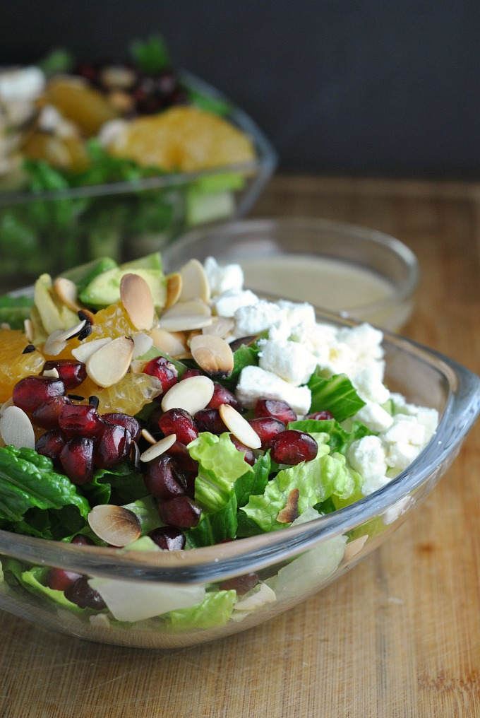 Pomegranate Orange Salad 1