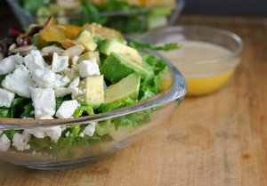 Pomegranate Orange Salad + Weekly Menu