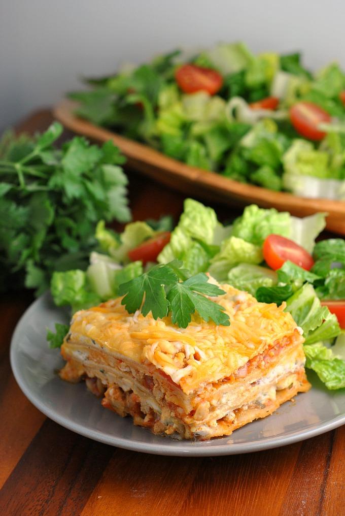 Buffalo Chicken Lasagna 1