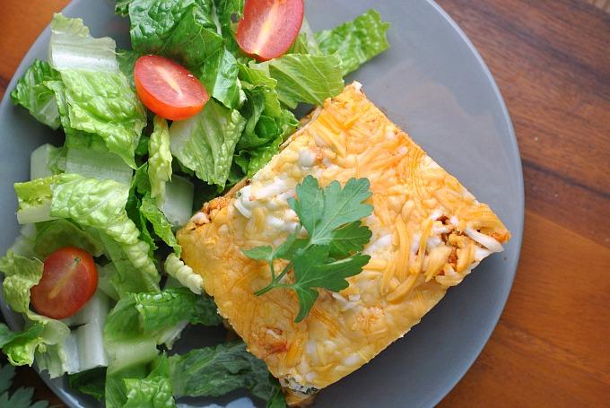 Buffalo Chicken Lasagna 2