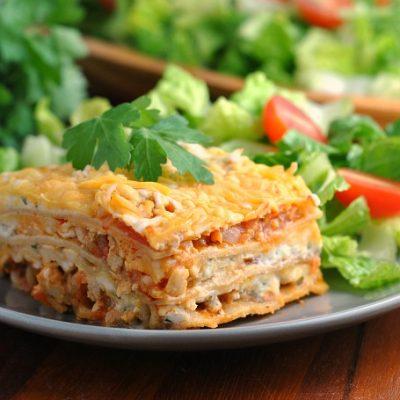 Buffalo Chicken Lasagna (vers. 2.0)