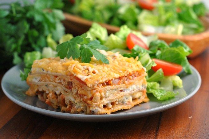 Buffalo Chicken Lasagna 3