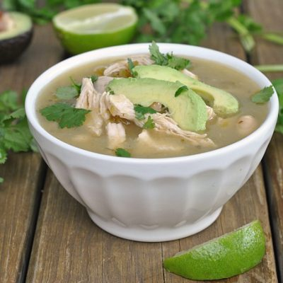 Jalapeno Lime Chicken Soup + Weekly Menu