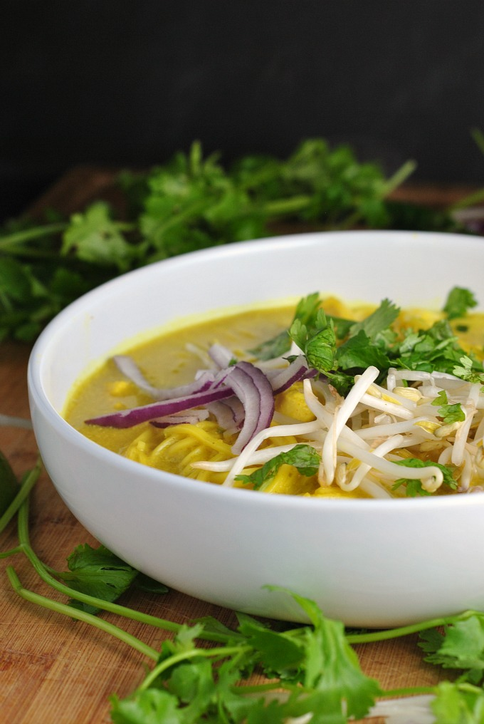 Spicy Thai Curry Noodle Soup 1