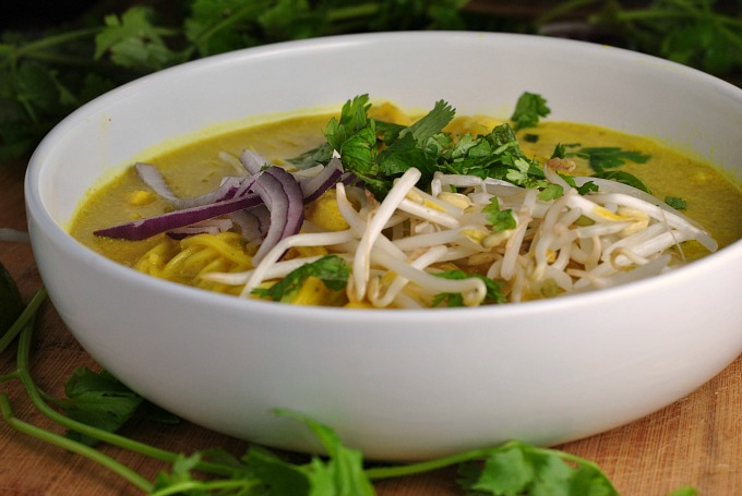 Spicy Thai Curry Noodle Soup 3