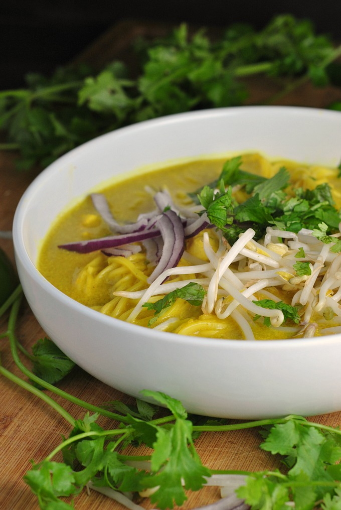 Spicy Thai Curry Noodle Soup 4