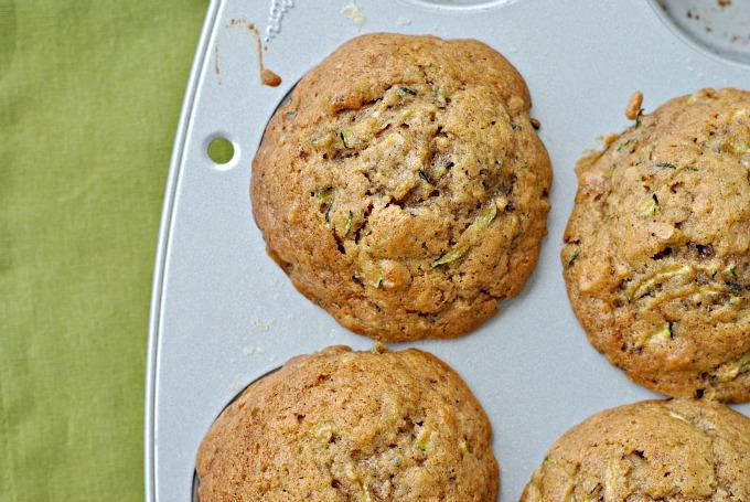 Zucchini and Walnut Muffins 2