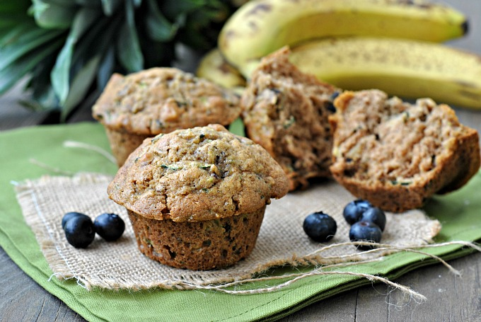 Zucchini and Walnut Muffins 4