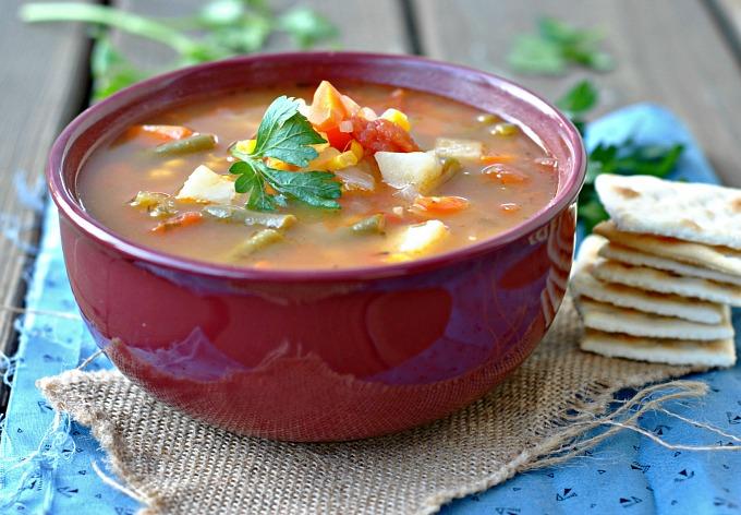 Classic Vegetable Soup 2