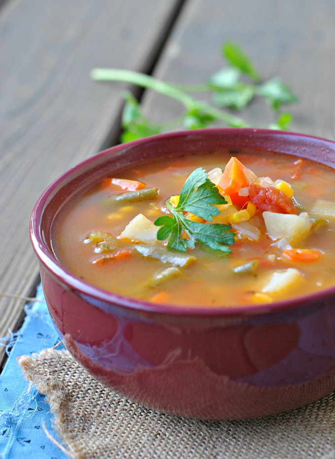 Classic Vegetable Soup 3