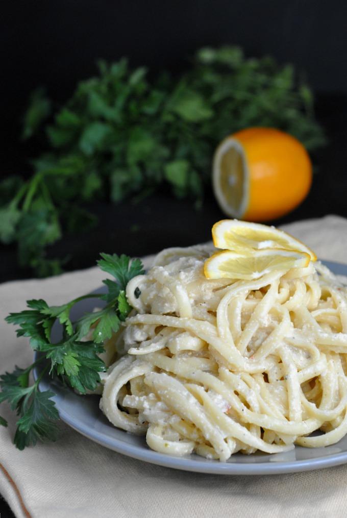 Creamy Lemon One-Pot Pasta 4