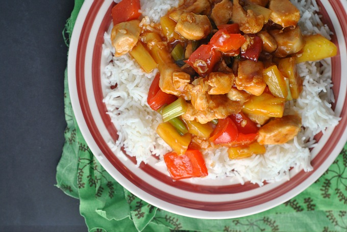 Easy Sweet and Sour Chicken 2