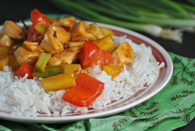 Easy Sweet and Sour Chicken 3