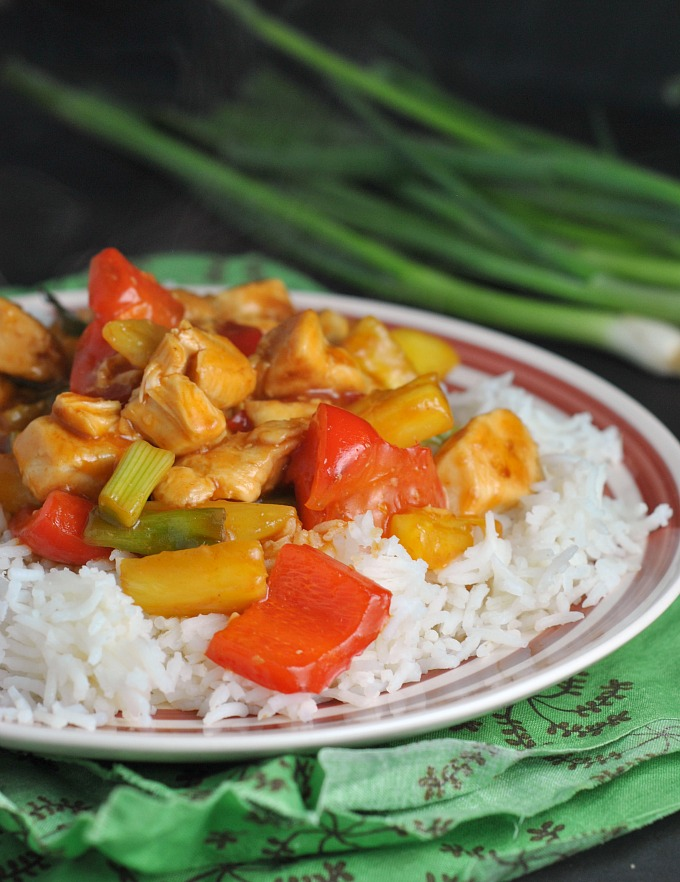 Easy Sweet and Sour Chicken 4
