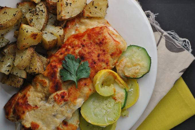 Hummus-Crusted Chicken 2