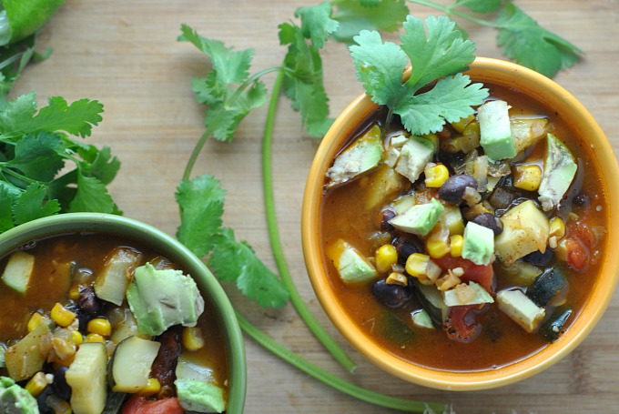Zucchini and Corn Chili 2