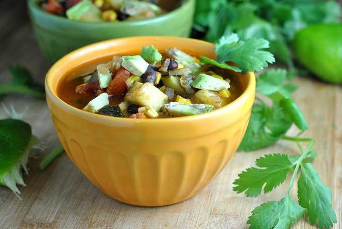 Zucchini and Corn Chili 3