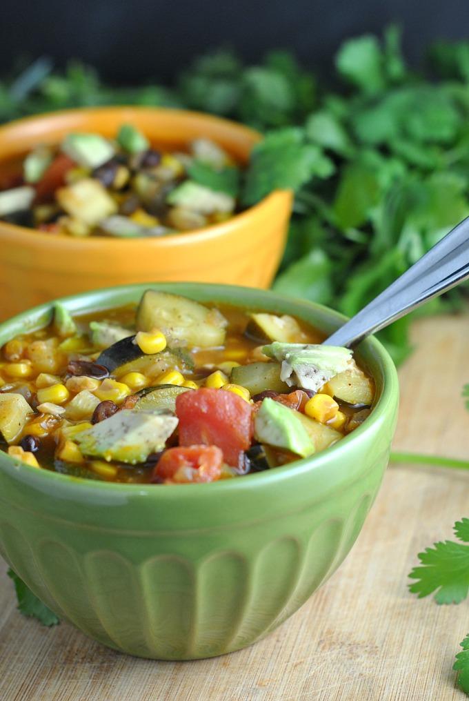 Zucchini and Corn Chili 4