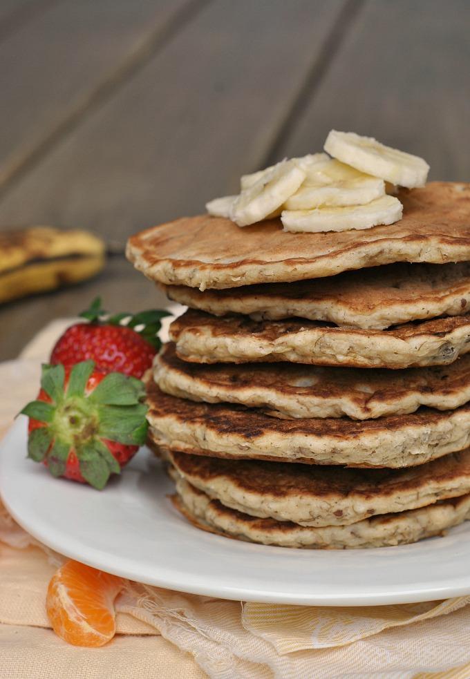 Banana Nut Pancakes 1