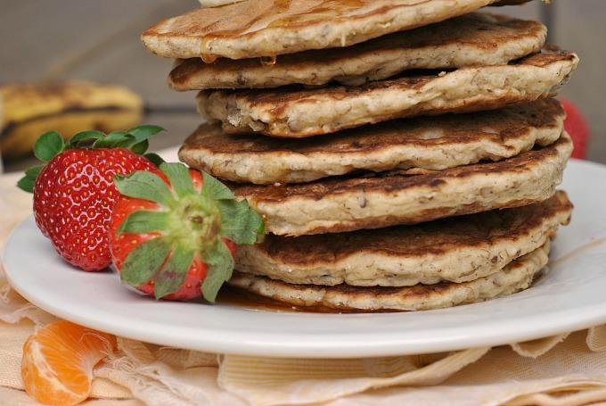 Banana Nut Pancakes 2